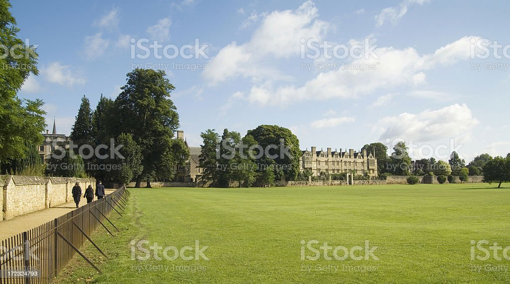 Oxford scenery stock photo