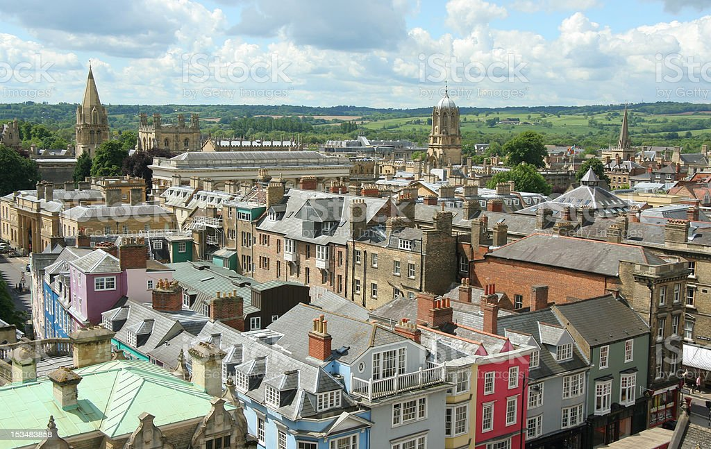Oxford Skyline stock photo