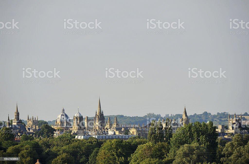 Oxford  Spires royalty-free stock photo