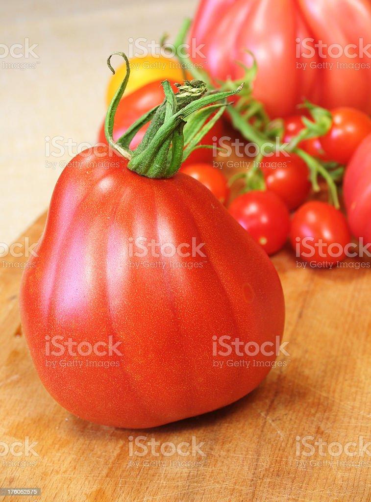Oxheart Tomato stock photo