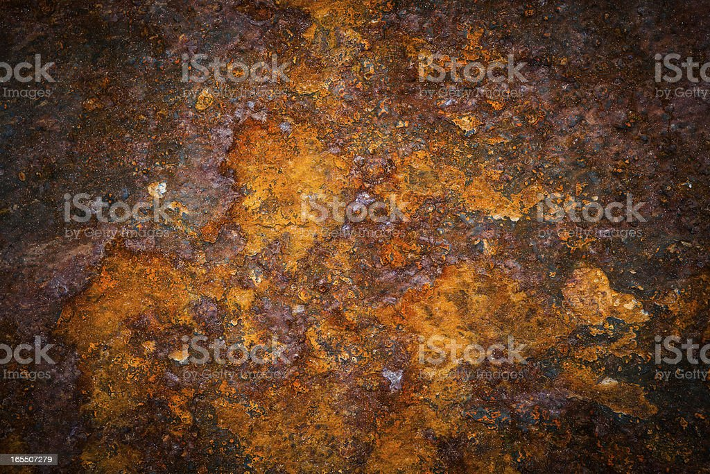 Oxidated metal stock photo
