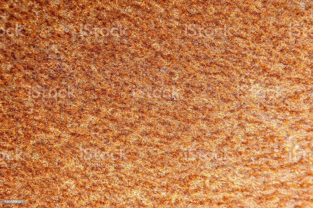 oxidation of metal royalty-free stock photo