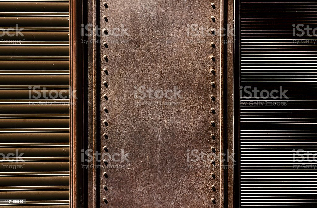 Oxide brown texture. royalty-free stock photo