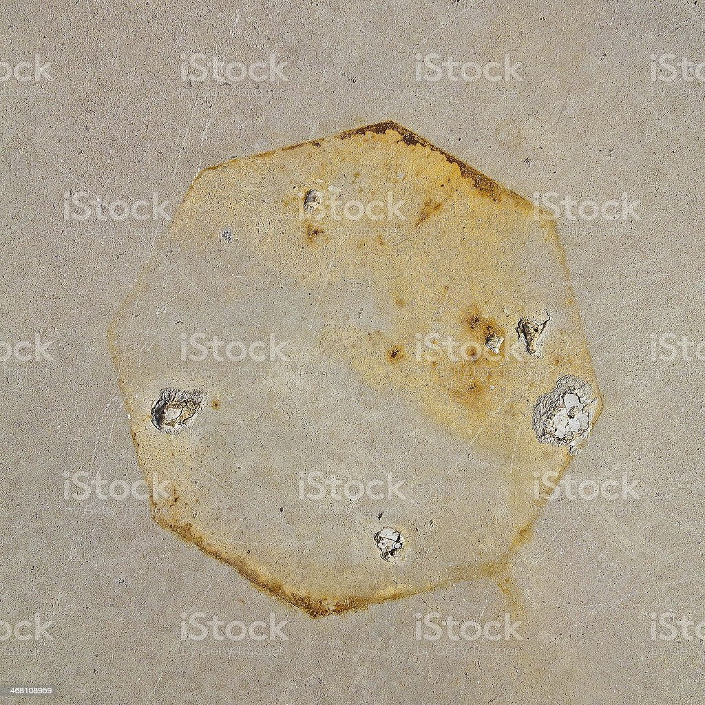 Oxide image texture for 3D and CGI stock photo
