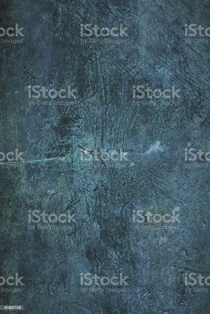 Oxidised copper roof texture royalty-free stock photo