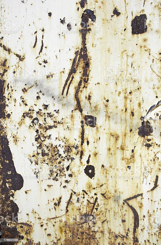 Oxidized metal royalty-free stock photo