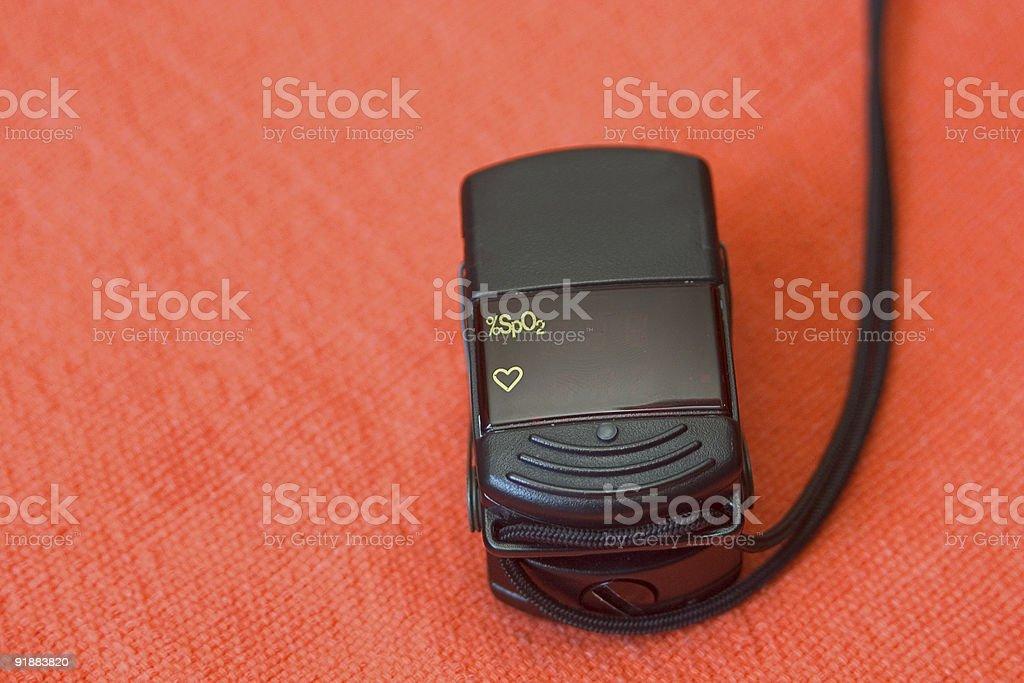 oximeter stock photo