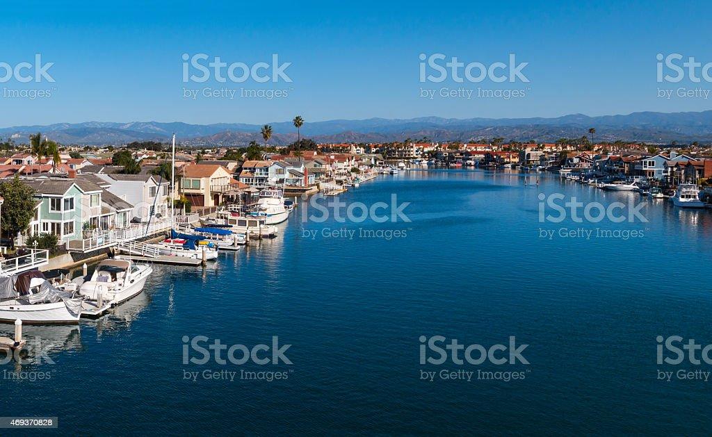 Oxnard Waterfront, California USA stock photo