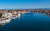 Oxnard Waterfront, California USA