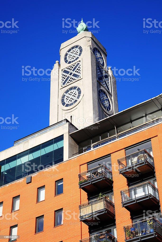 Oxo Tower stock photo
