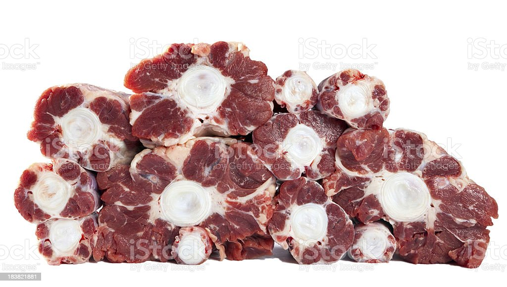 Oxtail stock photo