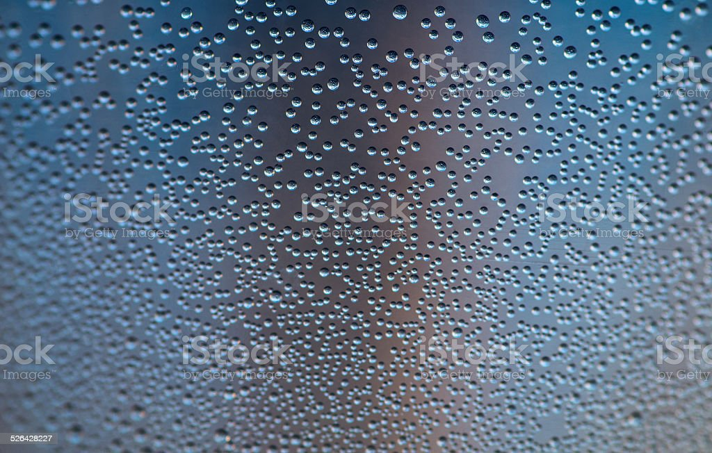 Oxygen bubbles. stock photo