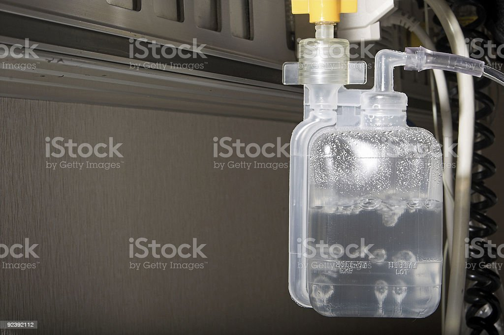 Oxygen Humidifier stock photo