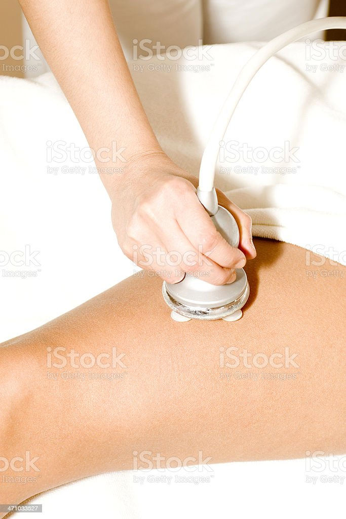 Oxygen Theraphy royalty-free stock photo