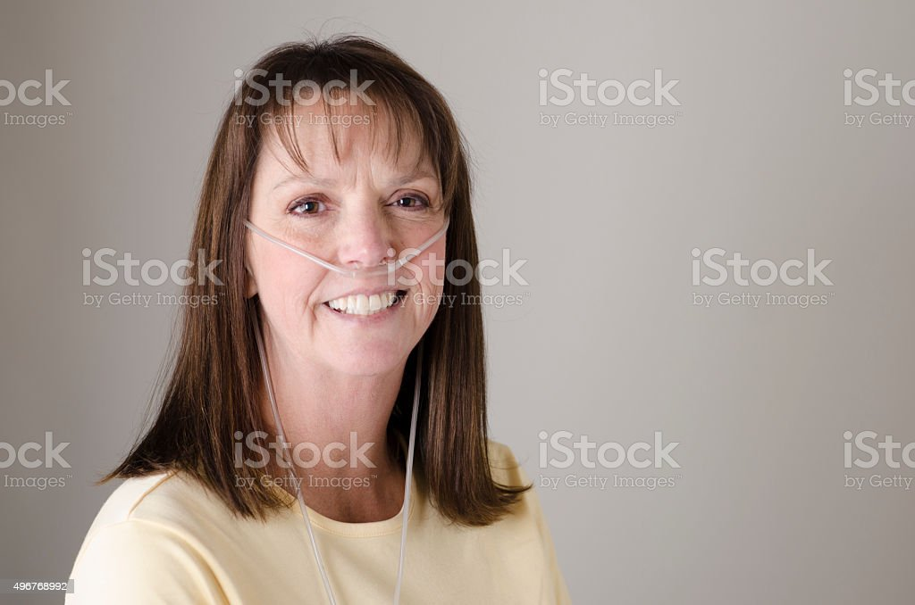Oxygen Therapy stock photo