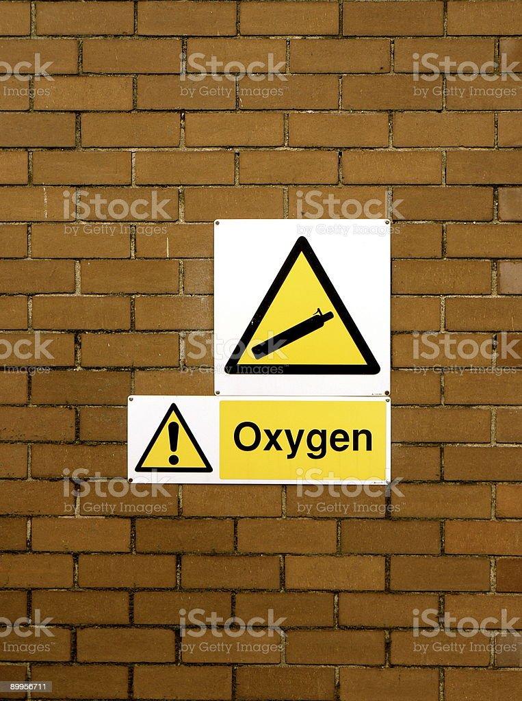Oxygen Wall royalty-free stock photo