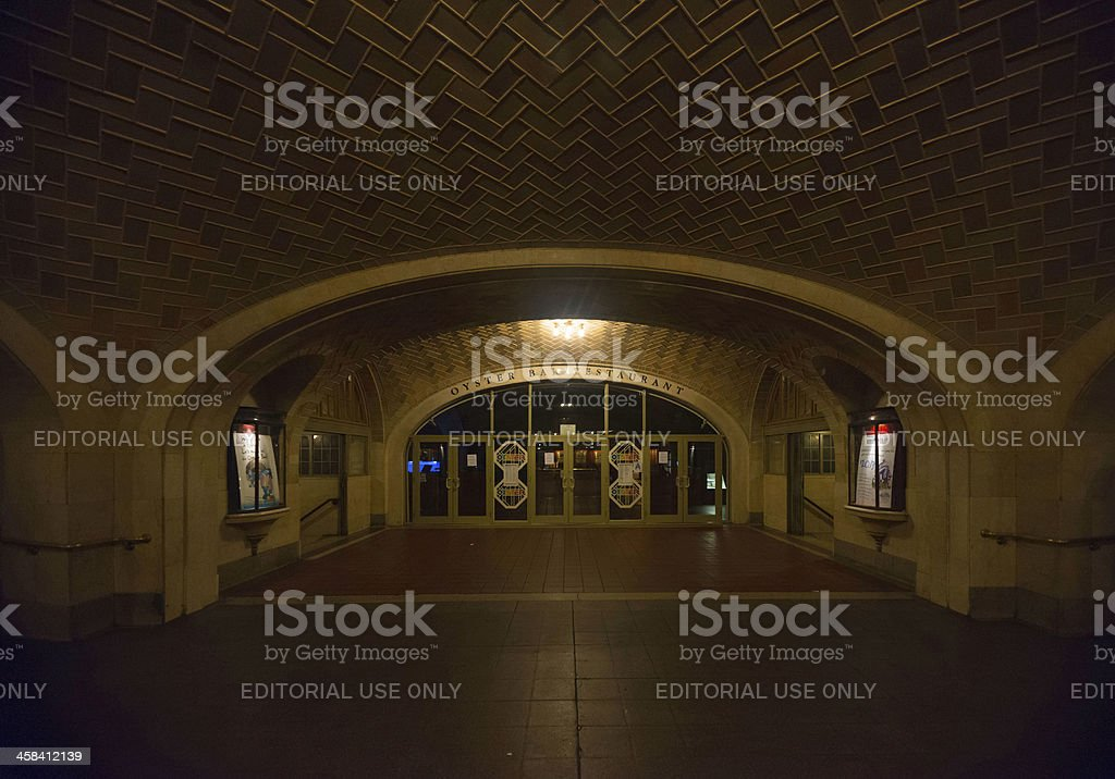 Oyster Bar and Whispering Gallery, Grand Central Terminal stock photo