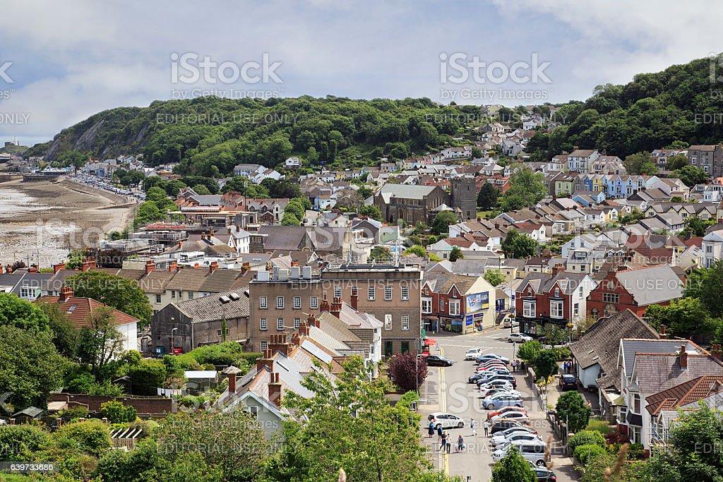 Oystermouth - Mumbles stock photo