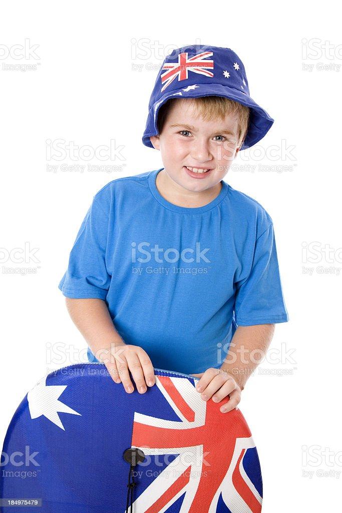 Oz Day Boy stock photo