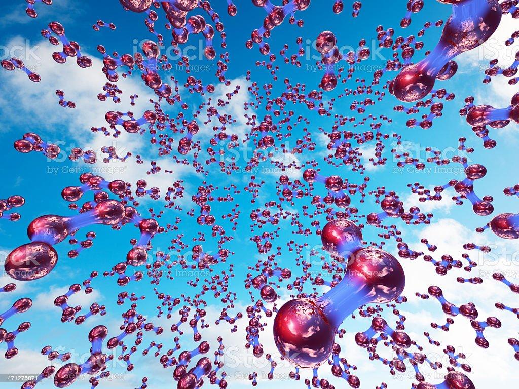 Ozone Layer stock photo