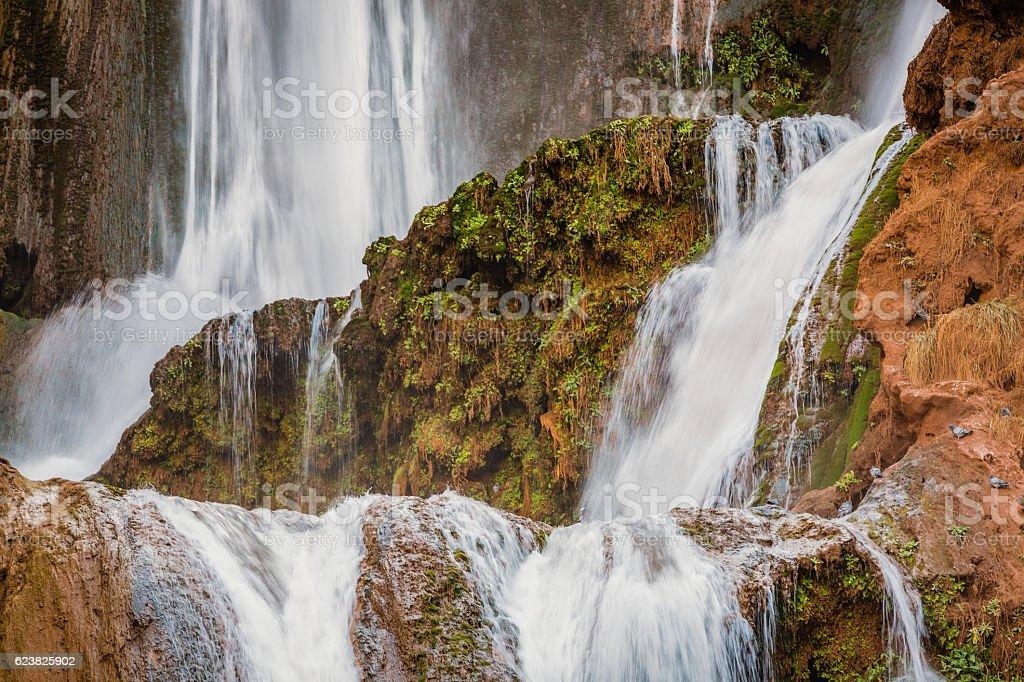 Ozoud Waterfalls, Morocco stock photo