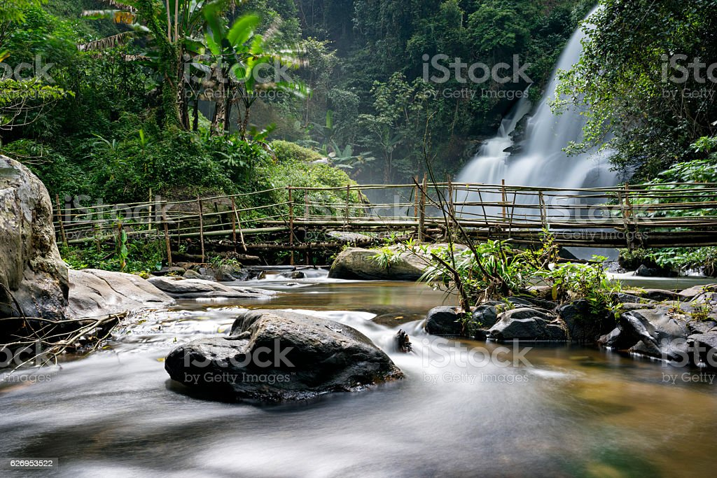 Pa Dok Siew Waterfall stock photo
