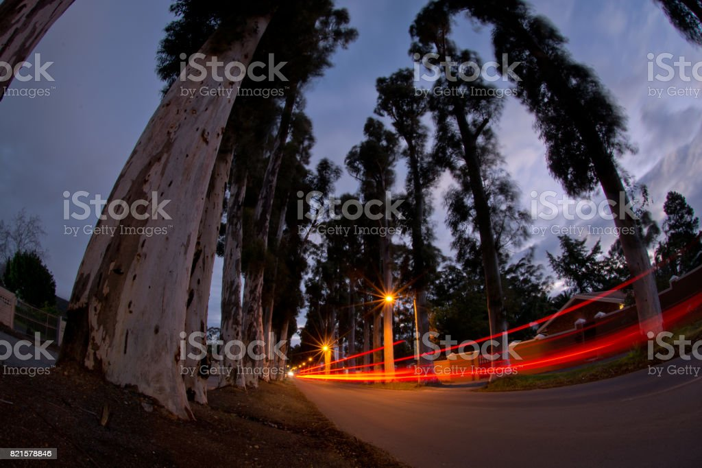 paarde valley road stock photo