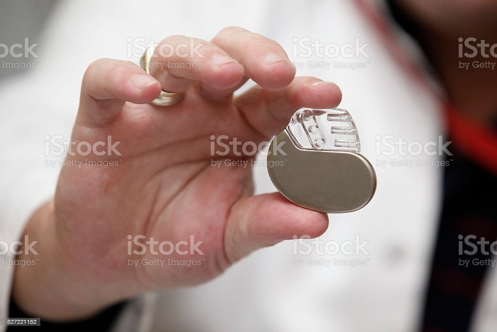 pacemaker heart medicine stock photo