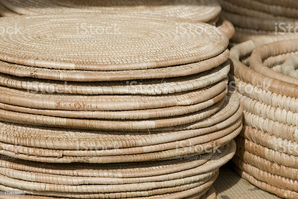 Pacemats for sale royalty-free stock photo