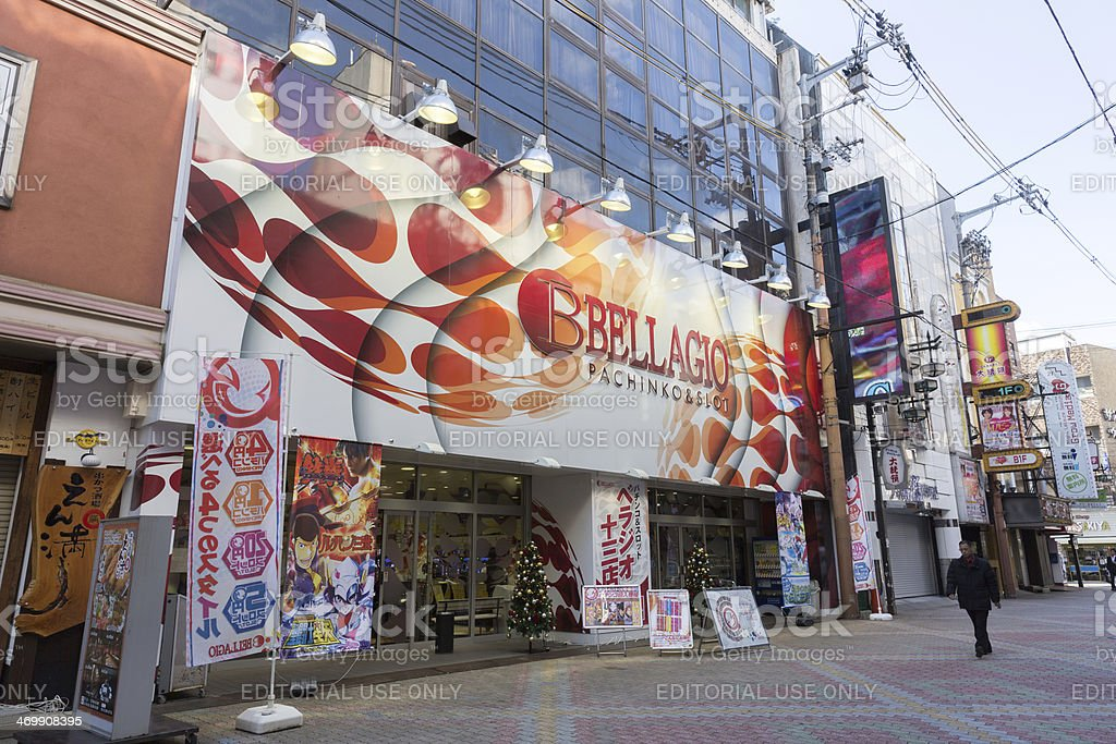 Pachinko and Slot in Japan royalty-free stock photo