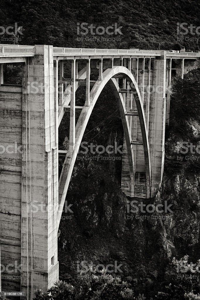 Pacific Coast Highway 1 Near Big Sur stock photo
