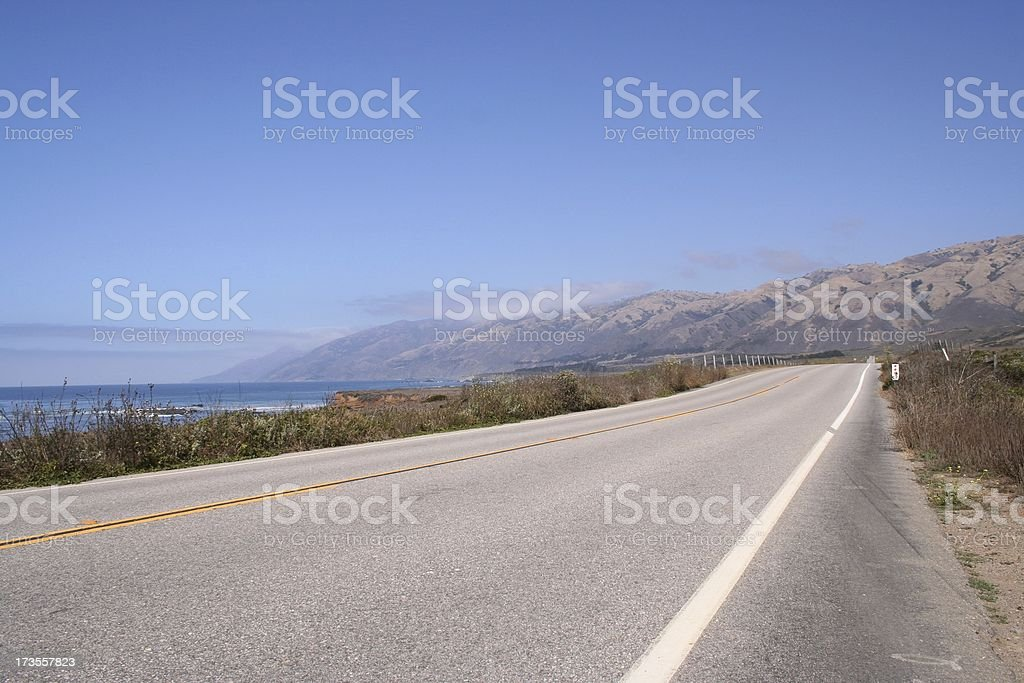 Pacific Coast Highway 1 royalty-free stock photo