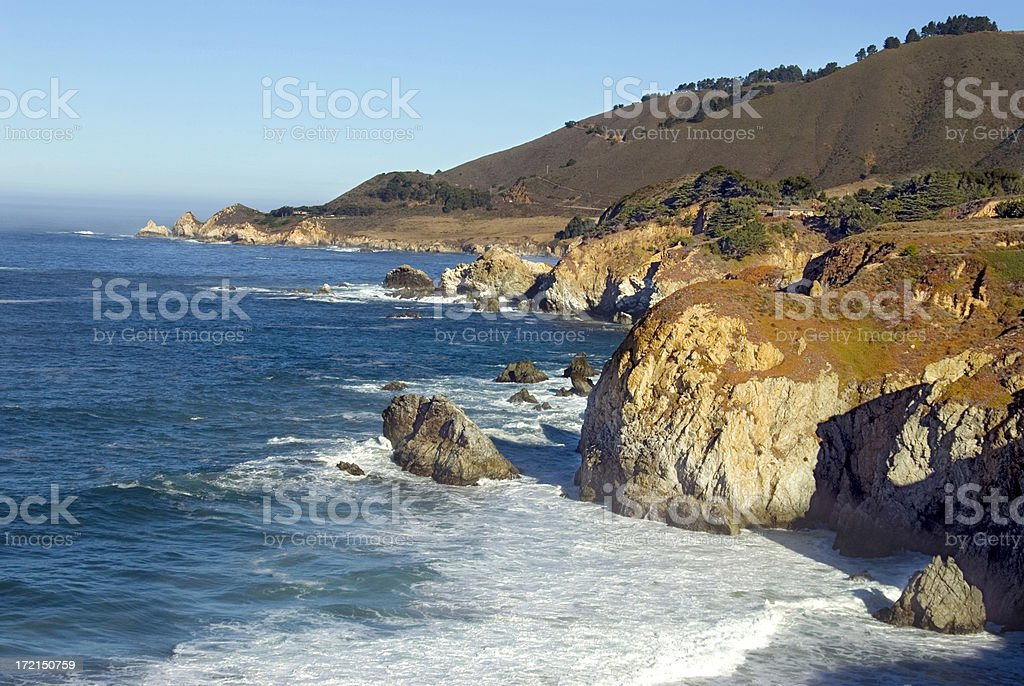 Pacific Coast Highway California royalty-free stock photo