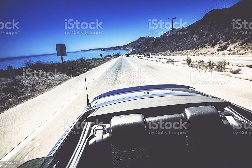 Pacific Coast Highway stock photo