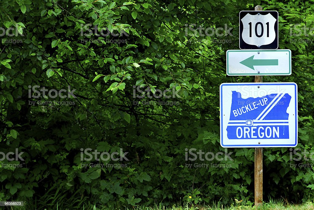 Pacific Coast Highway Route stock photo