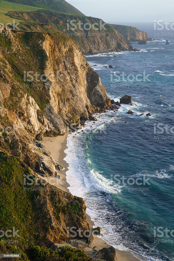 Pacific Coast in Big Sur, California royalty-free stock photo