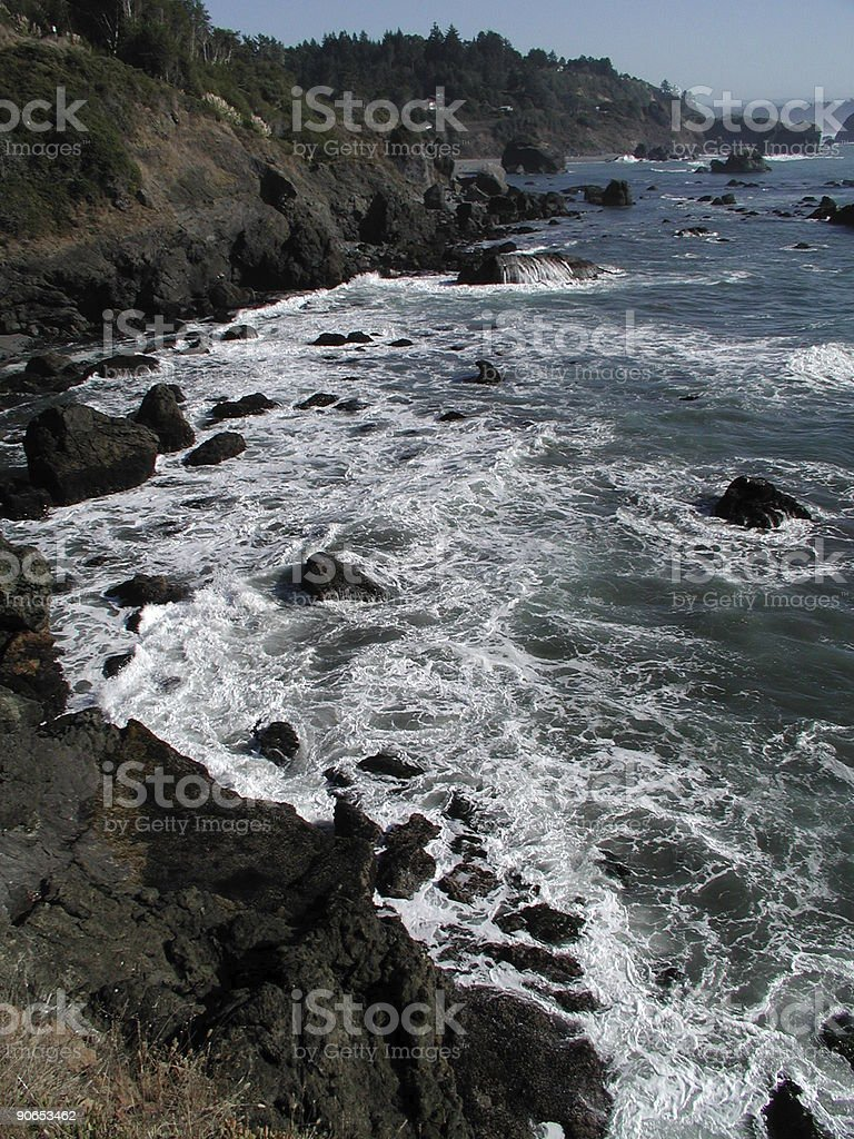 Pacific coast palisades royalty-free stock photo
