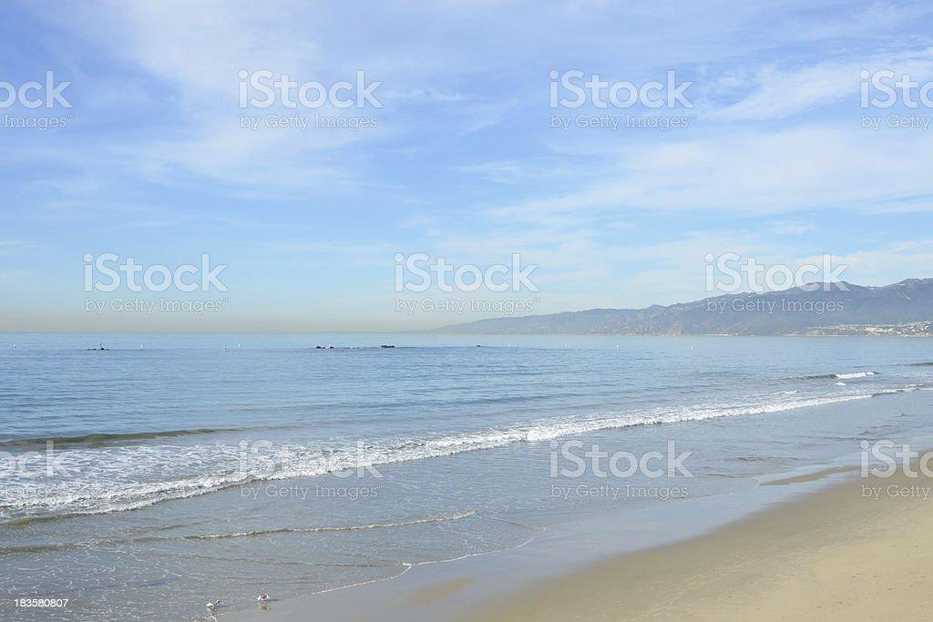 Pacific Coast royalty-free stock photo
