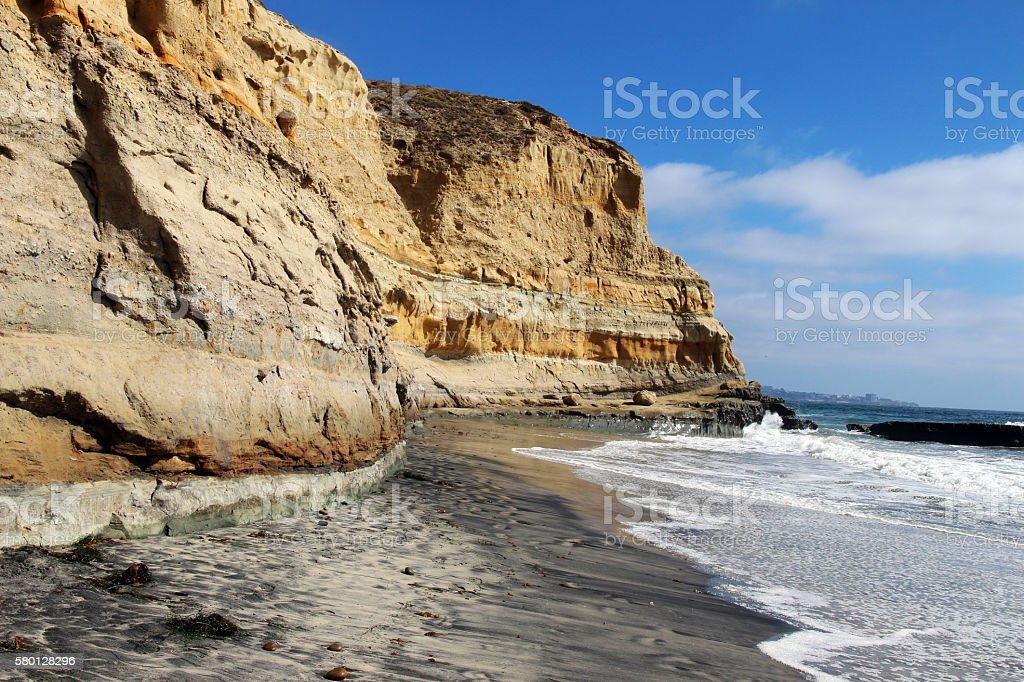 Pacific coastline stock photo