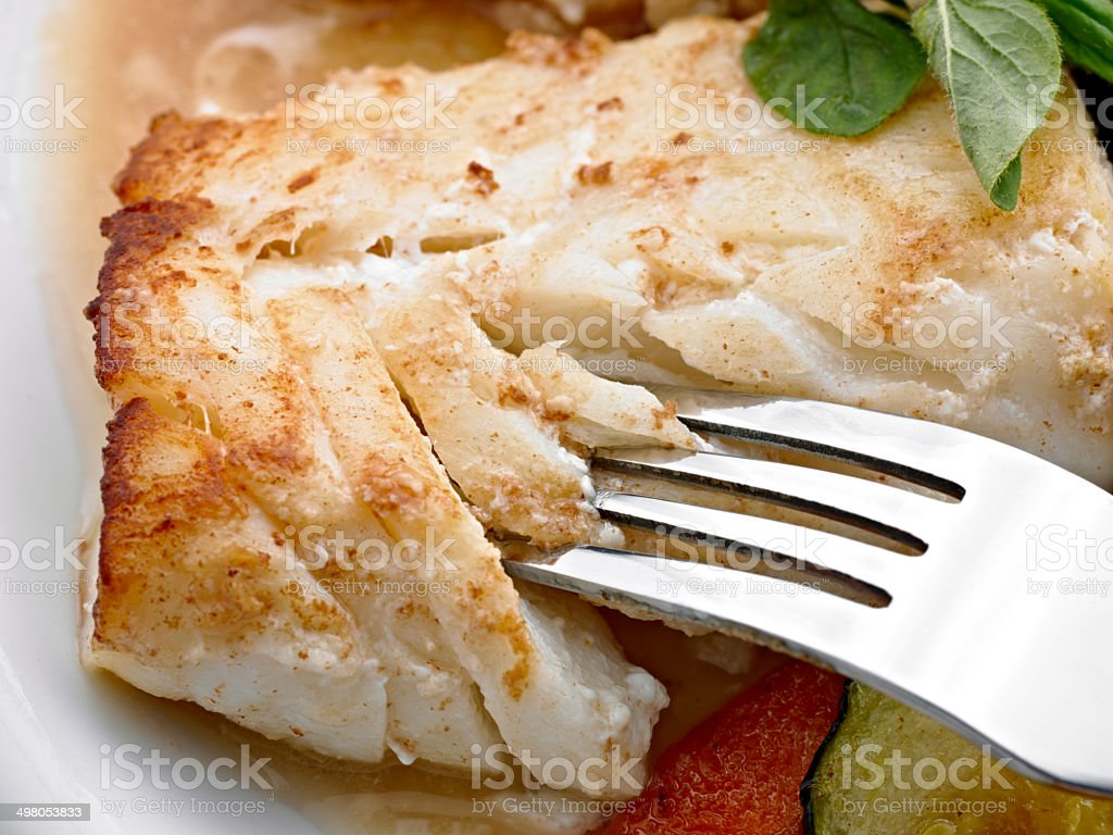 Pacific Cod stock photo