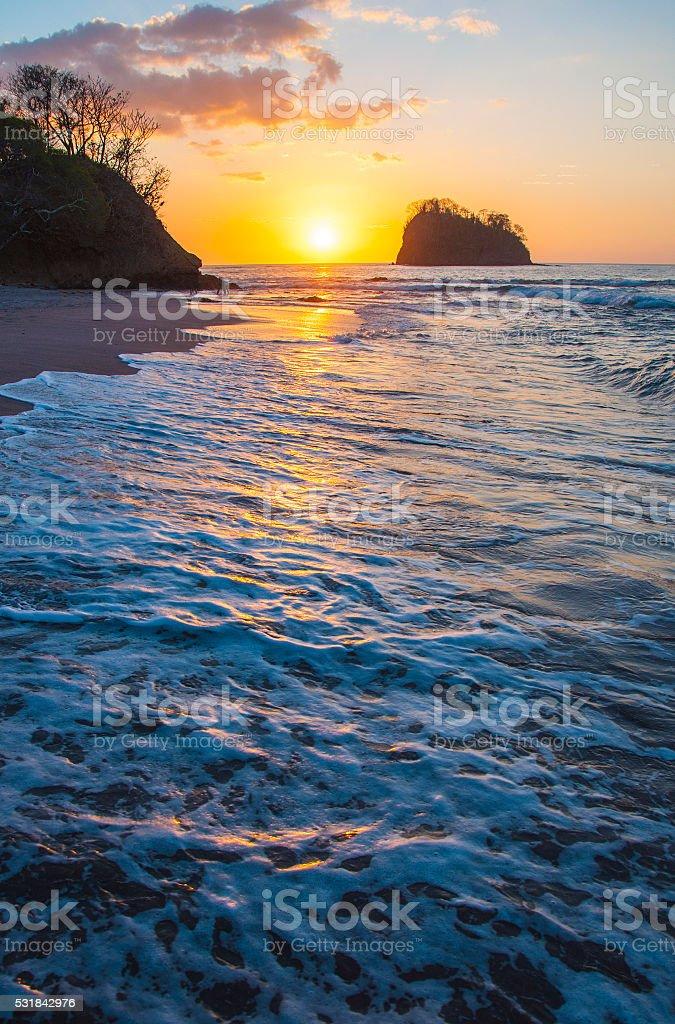 Pacific Costa Rica stock photo