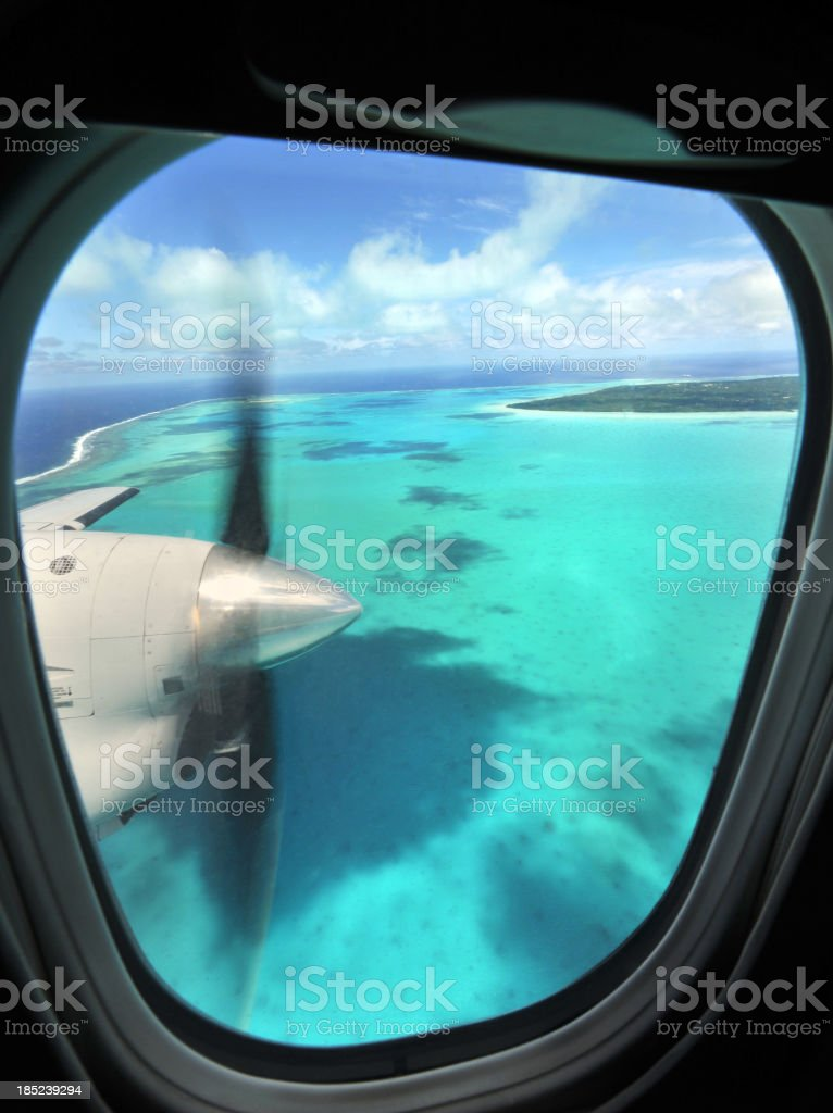 Pacific Flight royalty-free stock photo