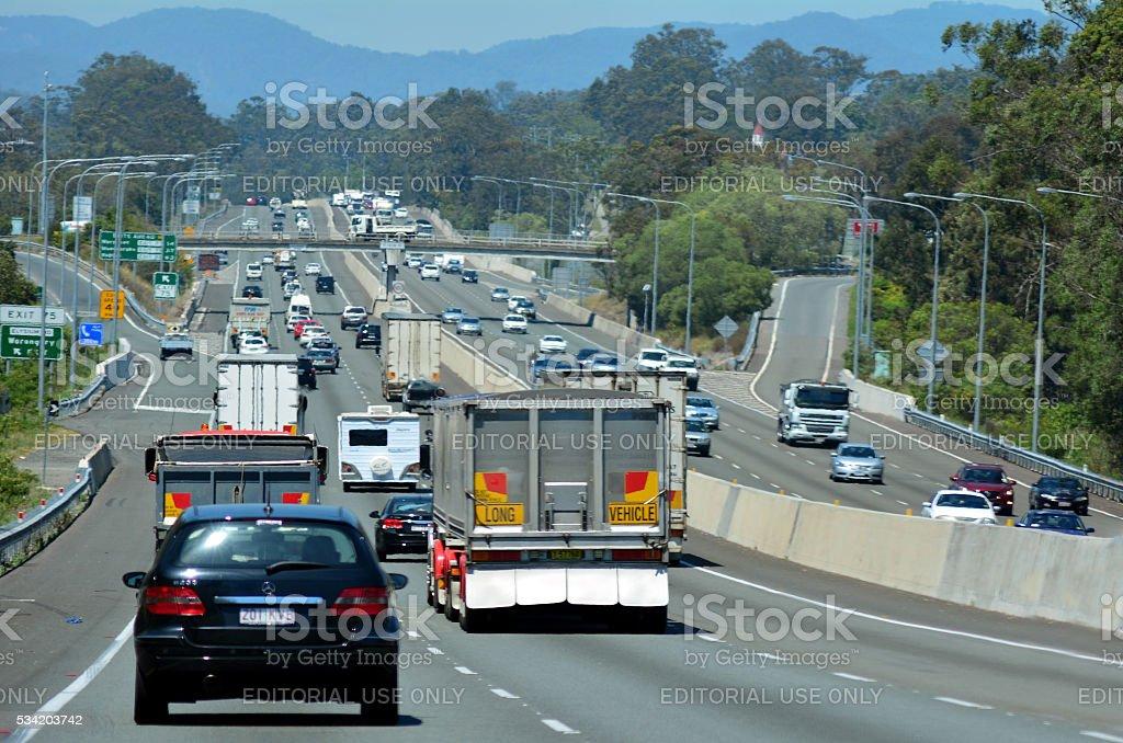 Pacific Highway - Australia stock photo