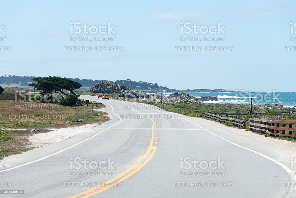 Pacific Higway One stock photo