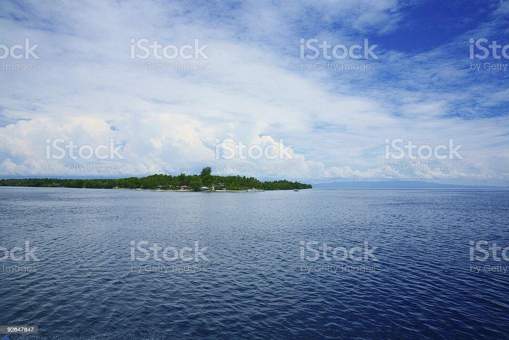 Pazifik-Insel Lizenzfreies stock-foto