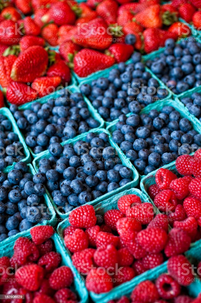 Pacific Northwest Berry Fruit royalty-free stock photo