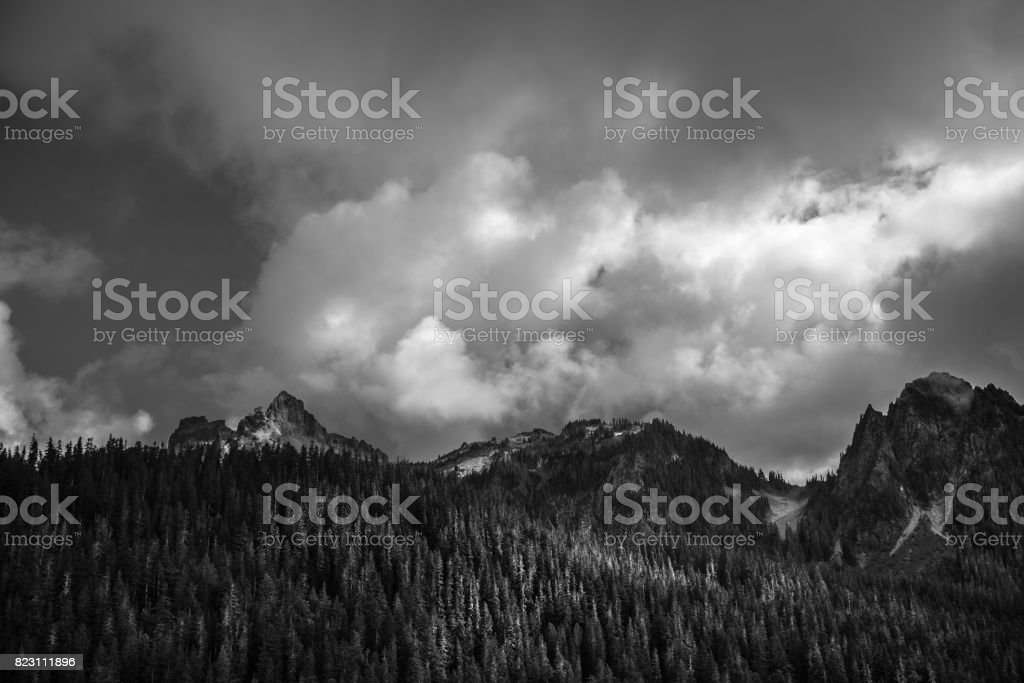 Pacific Northwest Landscape stock photo