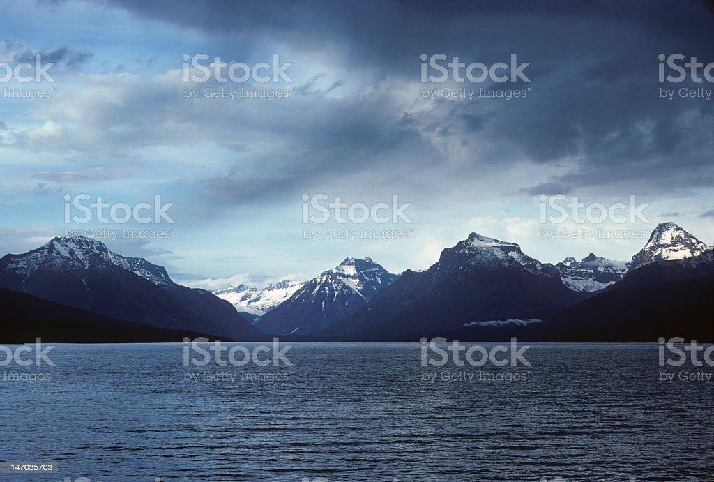 Pacific Northwest rugged coastline stock photo