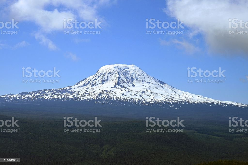 Pacific NW Mountain stock photo