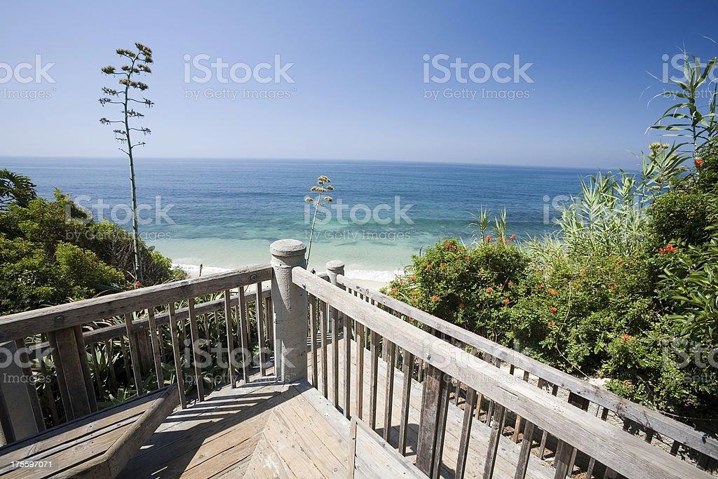 Pacific Ocean Balcony royalty-free stock photo